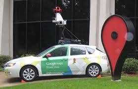 Voiture Google Map formation informatique et ressources humaines - JL Gestion - bruxelles