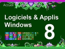 Windows 8 application logiciels - formation informatique et ressources humaines - JL Gestion - bruxelles