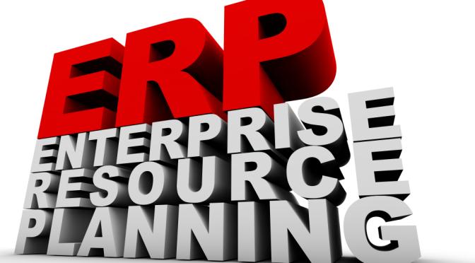 ERP - entreprise ressource planning