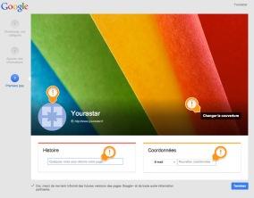 Compte Google plus - Reseaux sociaux - formation informatiques et ressources humaines - JL Gestion - bruxelles